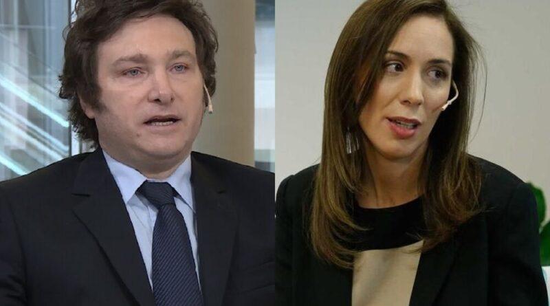 María Eugenia Vidal, Javier Milei